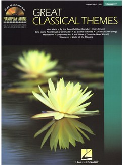 Piano Play-Along Volume 97: Great Classical Themes Books and CDs | Piano