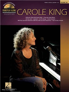Piano Play-Along Volume 106: Carole King Books and CDs | Piano