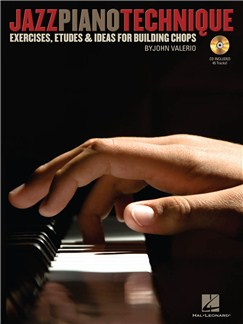 John Valerio: Jazz Piano Technique Books and CDs | Piano