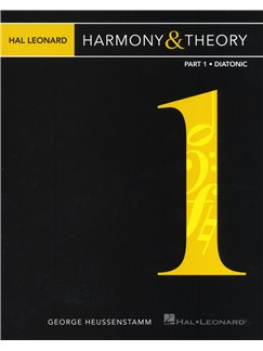 Hal Leonard Harmony & Theory - Part 1: Diatonic Books |