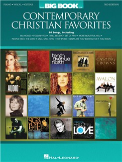 The Big Book Of Contemporary Christian Favorites - 3rd Edition Books | Piano, Vocal & Guitar