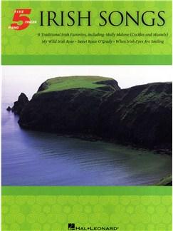 Irish Songs: Five Finger Piano Songbook Books | Piano