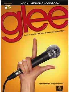 Glee Vocal Method & Songbook Books and CDs | Voice, Melody Line, Lyrics & Chords