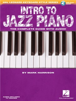 Hal Leonard Keyboard Style Series: Intro To Jazz Piano (Book/Online Audio) Books and Digital Audio | Piano