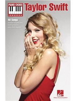Piano Chord Songbook: Taylor Swift Books   Lyrics & Piano Chords