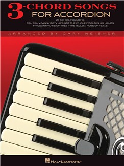 3-Chord Songs For Accordion Books | Accordion