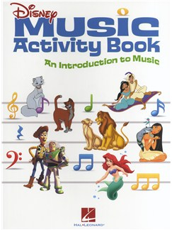 Disney Music Activity Book - An Introduction To Music Books | All Instruments