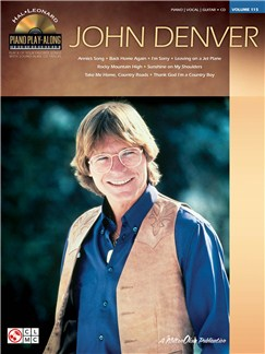 Piano Play-Along Volume 115: John Denver Books and CDs | Piano, Vocal & Guitar