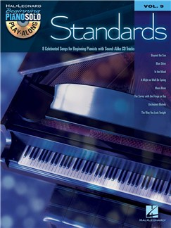 Beginning Piano Solo Play-Along Volume 9: Standards Books and CDs | Piano