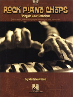 Mark Harrison: Rock Piano Chops Books and CDs | Piano
