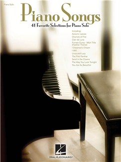 Piano Song: 41 Favorite Selections For Piano Solo Books | Piano