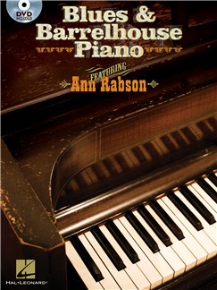 Ann Rabson: Blues & Barrelhouse Piano Books and DVDs / Videos | Piano