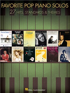 Favorite Pop Piano Solos - 27 Hits and Themes Books | Piano