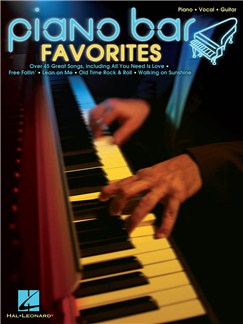 Piano Bar Favourites Books | Piano, Vocal & Guitar