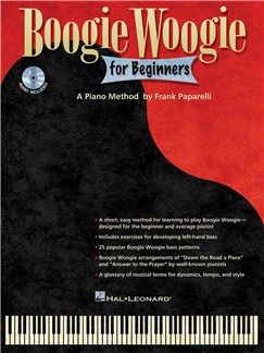 Frank Paparelli: Boogie Woogie For Beginners Books and CDs | Piano
