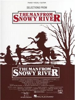Bruce Rowland: Man From Snowy River Books   Piano