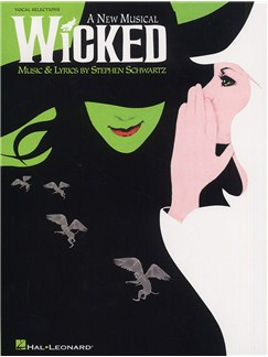Stephen Schwartz: Wicked (Vocal Selections) Livre | Voix, Accompagnement Piano (Symboles d'Accords)