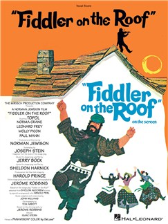 Jerry Bock and Sheldon Harnick: Fiddler On The Roof (Vocal Score) Books | Vocal Score