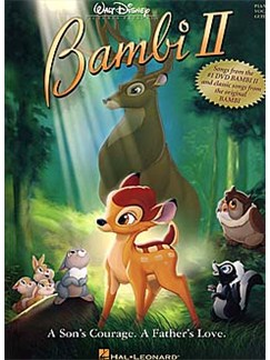 Bambi II Books | Piano, Vocal & Guitar