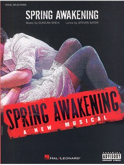 Duncan Sheik: Spring Awakening (Vocal Selections) Books | Piano, Vocal & Guitar