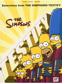 Selections From The Simpsons: Testify Books | Piano, Vocal & Guitar
