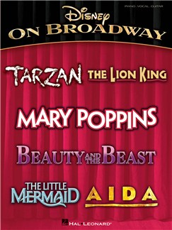 Disney On Broadway (PVG) Books | Piano, Vocal & Guitar