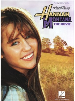 Hannah Montana: The Movie (PVG) Books | Piano, Vocal & Guitar