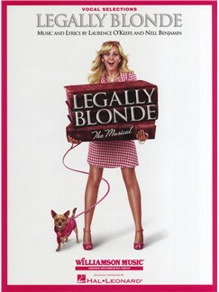 Legally Blonde The Musical: Vocal Selections Livre | Voix, Accompagnement Piano
