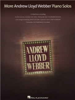 More Andrew Lloyd Webber Piano Solos Books | Piano