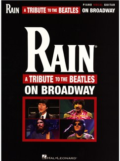 Rain: A Tribute To The Beatles On Broadway Books | Piano, Vocal & Guitar