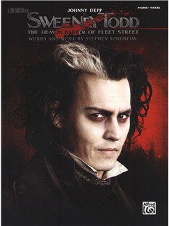 Stephen Sondheim: Sweeney Todd (The Movie) Books | Piano & Vocal