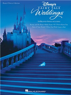 Disney's Fairy Tale Weddings Livre | Piano, Chant et Guitare
