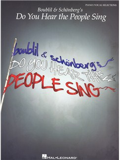 Boublil & Schönberg's Do You Hear The People Sing Books | Piano, Vocal & Guitar