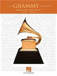 The Grammy Awards: Song Of The Year 1958-1969 Books | Piano, Vocal & Guitar