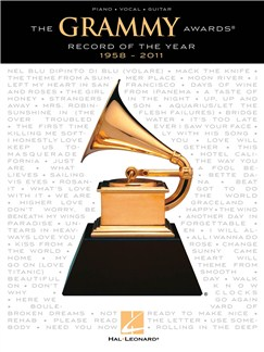 The Grammy Awards: Record of the Year 1958-2011 Books | Piano, Vocal & Guitar