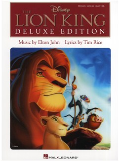 Elton John/Tim Rice: The Lion King - Deluxe Edition Books | Piano, Vocal & Guitar