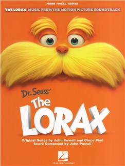 John Powell/Cinco Paul: Dr. Seuss' The Lorax Books | Piano, Vocal & Guitar