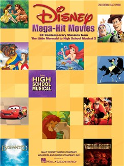 Disney Mega-Hit Movies Books | Piano