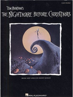 Danny Elfman: The Nightmare Before Christmas (Easy Piano) Books | Piano