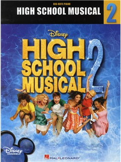 High School Musical 2: Big Note Songbook Books | Piano