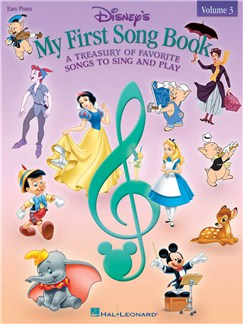 Disney's My First Songbook: Volume 3 - Easy Piano Books | Piano, Vocal & Guitar, Piano, Easy Piano