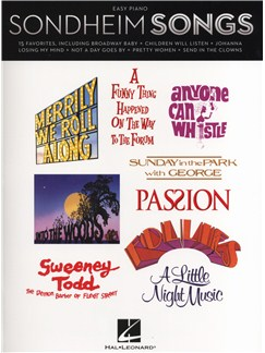 Stephen Sondheim: Sondheim Songs For Easy Piano Books | Piano