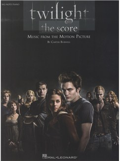 Carter Burwell: Twilight - The Score (Big Note Piano) Livre | Piano (Grosses Notes)