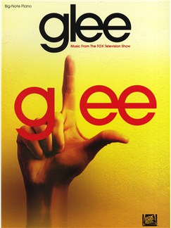 Glee: Big-Note Piano Books | Piano
