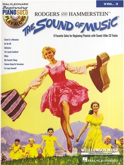 Beginning Piano Solo Play-Along Volume 3: The Sound Of Music Books and CDs | Piano