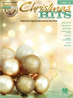 Beginning Piano Solo Play-Along Volume 4: Christmas Hits Books and CDs | Piano
