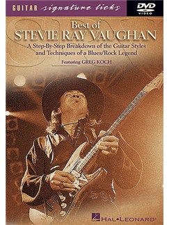 Best Of Stevie Ray Vaughan DVD DVDs / Videos | Guitar