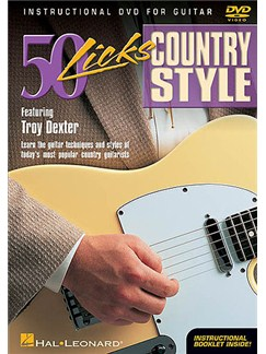 50 Licks Country Style DVDs / Videos | Guitar