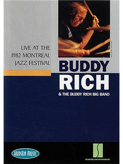 Buddy Rich And The Buddy Rich Big Band: Live At The Montreal Jazz Festival DVD DVDs / Videos | Drums