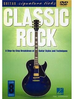 Classic Rock: Guitar Signature Licks DVDs / Videos   Guitar